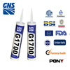 All season silicon mildew resistant silicone sealants
