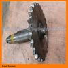 sprocket shaft XCMG gr215 motor grader spare part