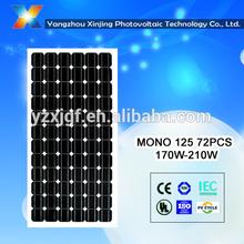 200W solar panel monocrystalline certificated TUV/CE/CEC/IEC 6*12