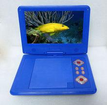 Best selling 7.8 inch Portable DVD Player with analogue TV/ digital TV for Brazil market/AV/FM/GAME/USB