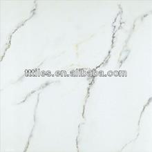 Volakas marble look tiles, jazz white glazed porcelain tiles look like marble calacatta