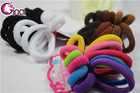 mix big and small simple elastic hair band, hair elastics set