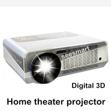 3D Projector LED86+ Brightest 4500 Lumens Built-in Android 4.2.2 Native Full HD Led Android Digital Smart Projector