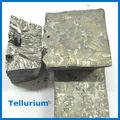 Kaufen 4n 5n 6n 7n tellur te Preis/herstellung von metall barren für tellur Pulver/china mineralien reine tellur barren