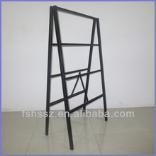 Iron frame display stand, inserted poster display stand