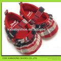 Feliz babyshoes 2014 barato a menina sapatos de bebê casual sapatos laço de calçados infantis/sapatos para crianças