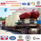 1000kw/h vertical anthracite coal/wood fired thermal conduction oil boiler