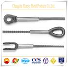 Spliced Steel Wire Rope Sling 6x19/ 6x24/ 6x37/ 6x49SWS+FC Fiber Rope Slings