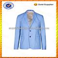 Personalizado Slim Fit estiramento Casual algodão Blazer para homens / elegante linho Mens Blazer atacado