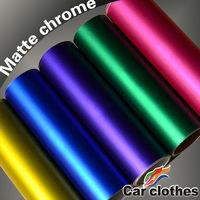 High Quality Chrome Vinyl Matte Car Wrapping Sticker