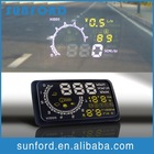 Automotive head up display for car safety driving