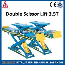 Famous of Brand 3.5T Small Scissor Car Lift/ Mobile Scissor Car Lift china