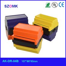 ABS standard plastic mounting enclosure plastic box din rail