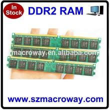 Factory DDR2 PC800 Memory Ram computer parts desktop 4gb ddr2 ram, ddr/ddr2/ddr3 ddr2 4gb 800mhz