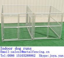 Factory supplying large animal runs metal panel dog runs large dog runs indoor dog runs