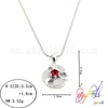 2014 new arrival beautiful wedding silver necklace