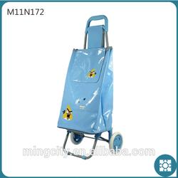 new fashional foldable trolley bag with wheels