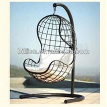 promotion indoor outdoor garden wrought iron swing sets chair
