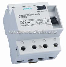 Hot sale JXF360 series residual current RCCB circuit breaker