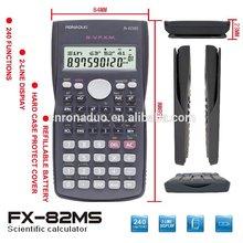 eletronics china supplier 10+2 digits 2 line scientific calculator 82MS promotion calculator wholesale shenzhen calculator