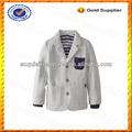 Personalizado planície 100% algodão pente crianças jaqueta e casaco/meninos jaqueta blazer para crianças atacado