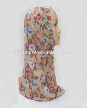 floral flower printed chiffon long pashmina scarf wrap