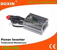 Small Modified Sine Wave DC AC 100W Power Converter 12v to 220v