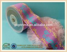 nylon jacquard elastic webbing for underwear