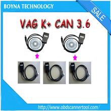 2015 New Version VAG K+CAN Commander 3.6 OBD2 VAG COM Diagnostic Cable,VAG K+CAN 3.6 Commander for Brand Cars Fast Shipping