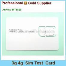 Anritsu MT8820 Mobile Phone 3g Micro WCDMA SIM Test Card