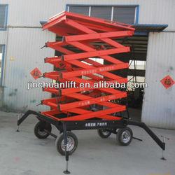 hydraulic scissors freight lifting