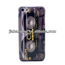 CD Cassette Tape ABS Hard Back Case for iPhone 5C