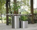Fo-9011 açoinoxidável cilindro vaso de flores