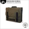 2014 High Quality Flip-open Cover Canvas Men Messenger Bags