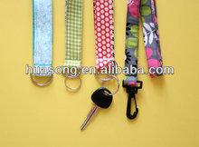 2014 custom wholesale key chain ID card mobile phone lanyard