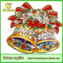 3D Glitter Paper Christmas Festive Wholesale,Christmas Festival Decoration Jingle Bell