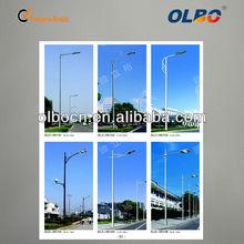 10M street/roadway single arm LED high quality Q235 steel street light pole
