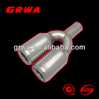 stainless steel exhaust pipe tip fit for HKS