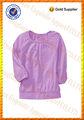 Großhandel mädchen volle hand leer t-shirts/babykleidung china