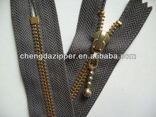 metal zipper zipper binder