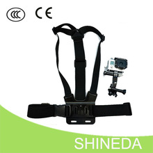 For GoPro Accessories Action Camera Chest Fixture Holding Strap With Connecting Station
