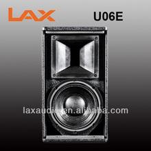 "Single 6.5"" Full Range Speaker LAX U06E"