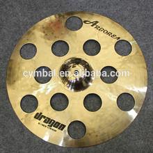 "musical instruments,pearl polishing Dragon 16"" O-Zone cymbal"