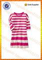 100% striscia di cotone manica lunga tasca ingrosso bambini's boutique di abbigliamento e abbigliamento