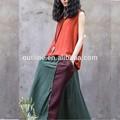 2014 nueva llegada de estilo europeo falda de las señoras, fotos de faldas largas y las tapas