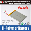 High Capacity 3.7v 6000mAh Lithium Polymer Battery Special for Tablet PC MID DVD
