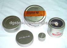 Wholesale custom printed metal round watch tin cases