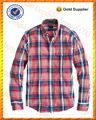 Lourd manches longues en coton à carreaux casual fit shirts en turquie 2014
