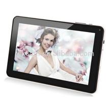 "9"" WIFI Bluetooth 2G/3G phone call Dual Core 1 TFT Card Slot 3G 9inch Tablet PC Black/ White- I-013"