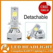 2015 LED headlight 70W 6400LM H1 9005 H8 H9 H11 9006 H4 H7 h7 led headlight 6400lm